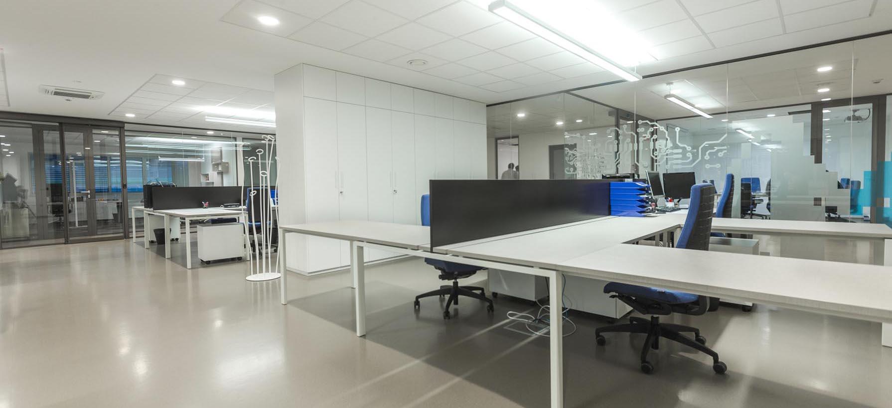 Interier v pisarni